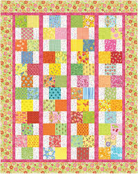 One of Pat Speth's for sale patterns called Hopscotch. Pretty and ... & One of Pat Speth's for sale patterns called Hopscotch. Pretty and bright  and uses charms Adamdwight.com