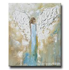 print angel painting abstract guardian angel inspirational wall art contemporary art by christine on home wall art painting with print angel painting abstract guardian angel inspirational wall art
