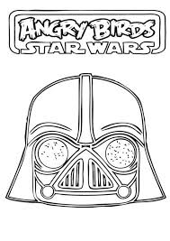 Small Picture Angry Birds Star Wars Awesome Darth Vader Coloring Pages Batch