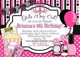 Diy Girls Day Out Party Invitation Movies Spa Party Makeup Party 4x6 Digital Order Only Birthday Party Digital Order Invite 1