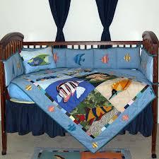 tropical fish baby bedding designs