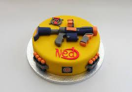 Nerf Gun Birthday Cake Melissa Rayner