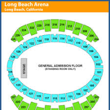 Long Beach Arena Seating Chart Long Beach Arena Long Beach Convention Center Events And