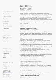 Club Security Officer Sample Resume Extraordinary Security Guard Resume Sample Luxury Security Officer Resume Sample