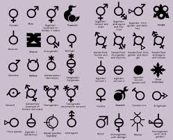 Gender Symbols Chart Pin On Exstras