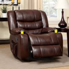recliner chairs with cup holder. Perfect Cup Furniture Of America Plushore Bonded Leather Match Recliner With Duo And Recliner Chairs With Cup Holder D
