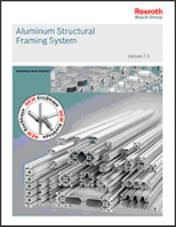atx west 2016 new aluminum structural framing catalog available from rexroth