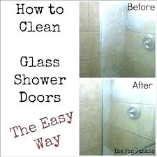 cleaning shower doors simple house newest pictures