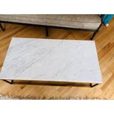 Buy products such as accent cocktail table coffee table w/ storage shelf at walmart and save. Restoration Hardware Nicholas Marble Coffee Table Aptdeco