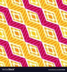 <b>Yellow</b> and pink diagonal <b>african geometric pattern</b>