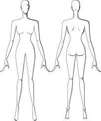 Template Female Body Template For Fashion Design Sketch Designer