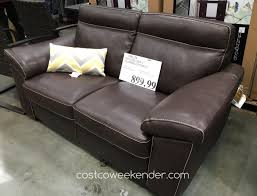 Couches Costco  At Under 200 Leather Couch Costco H61