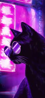 Neon Purple Wallpaper - EnJpg
