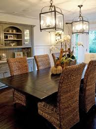 coastal lighting coastal style blog. Coastal Wicker Dining Room With Fall Decor Lighting Style Blog C