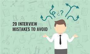 Tips For Interview Job Interview Tips For Pharma 20 Common Mistakes You