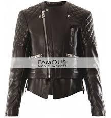 balenciaga quilted biker jacket previous