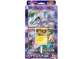 2019 Pokemon TCG Collection Sun/Collection Moon Special Jumbo Card Pack  Mewtwo & Mew GX (Japanese) - 2019