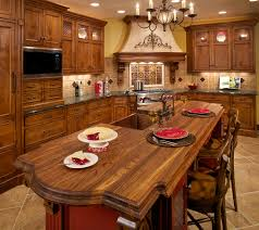Red Country Kitchen Cabinets Rustic Italian Kitchen Cabinets Roselawnlutheran