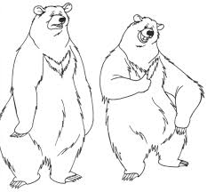 Printable Bear Coloring Pages | Coloring Me