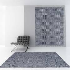asiatic sloan blue flatweave rug
