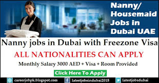 applying for nanny jobs nanny jobs in dubai with freezone visa