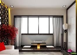 Window In Living Room Japanese Interior Design