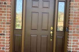 fiberglass door strip refinish in st
