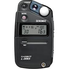 Used Sekonic L 358 Light Meter Sekonic L 308s Flashmate Digital Incident Reflected And Flash Light Meter