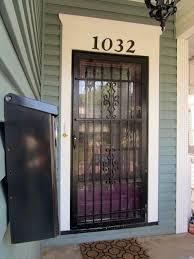 front door securityChange Out Your Screen Door With A Stylish Security Door