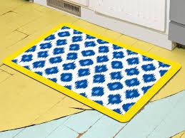 image of yellow kitchen rugs slice