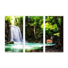 animated waterfall wall art
