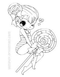 Small Picture Candy Candy anime coloring pages for kids printable free