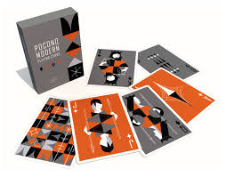 Custom Design Playing Cards The Retro Deck Just In Pocono Modern Playing Cards