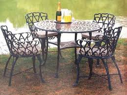 outdoor wrought iron furniture. how to keep your iron furniture new and glowing outdoor wrought