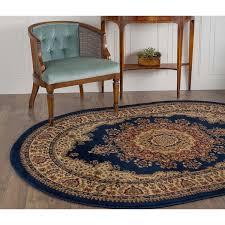 roselawnlutheran marvelous navy blue area rug alise soho navy blue oval traditional area rug 67 x 96