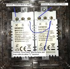 electrical how to replace a standard 2 gang light switch an annotated dimmer image