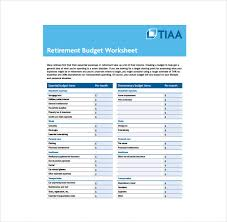 Example Budget Sheet 18 Budget Sheet Templates Word Pdf Excel Free