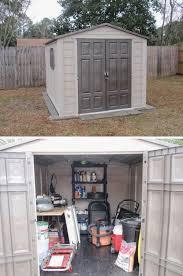 more loving plastic garden shed utility cabinet tool storage box amazing design
