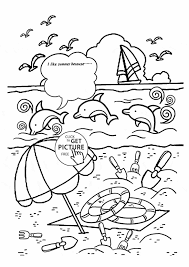 Small Picture Print Tryonshortscom Summer Summer Coloring Pages Coloring Pages