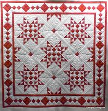 Christmas Star Quilt posted by irdesignsquilting from the ... & Christmas Star Quilt posted by irdesignsquilting from the quiltingboard.com  I love red and white Adamdwight.com