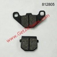 headlight wiring harness kit fits eton 50 90cc atvs others disc brake pads standard