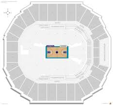 Charlotte Hornets Seating Guide Spectrum Center Time