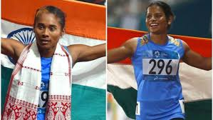 Hima was given an appointment letter to him at the sarusjai sports complex. Doping Hima Das Gold Rush Dutee Chand World Record Highs Lows Of Athletics In 2019