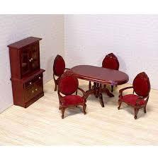 dollhouse dining room furniture. Dining Room Furniture Set Dollhouse M