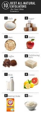 10 best all natural exfoliators for skin
