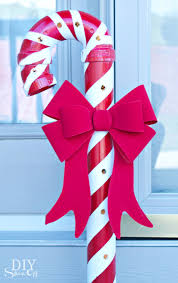 How To Decorate A Cane Christmas Candy Cane Decorations Christmas Candy Cane Decorations 93