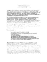 ap chem syllabus chemical reactions chemistry