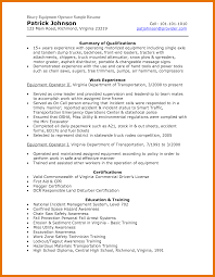 9 10 Heavy Equipment Operator Resume Samples Juliasrestaurantnjcom