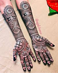 Dulhan Mehndi Designs Full Hand 30 Latest Bridal Mehndi Designs Of 2018 Blog