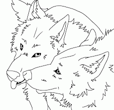 10 Pics Of Anime Furry Wolf Girl Coloring Page Anime Wolves